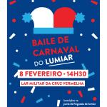 Baile de Carnaval Sénior | 8 de fevereiro | Lar Militar da Cruz Vermelha