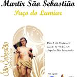 Procissão que honra o Mártir de São Sebastião | 4 de fevereiro | Capela de São Sebastião