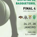 XL Campeonato Distrital de Basquetebol | 26, 27 e 28 de janeiro | Pavilhão da Escola Secundária do Lumiar