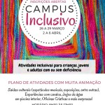 Campus Inclusivo | 26 de março a 6 de abril | Casa do Tejo