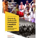 Concerto 72/35 Southern Street | 05 de março | Auditório da Biblioteca Orlando Ribeiro