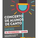 Concerto de Alunos de Canto | 25 de Fevereiro | Salão Nobre da Junta de Freguesia do Lumiar