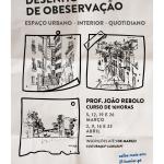 Curso de Desenho de Observação | 5 de março a 23 de abril