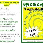 Um dia com… Yoga do Riso | 14 de fevereiro | Estádio José Alvalade