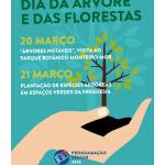 Comemoração do Dia da Árvore e das Florestas | 20 e 21 de abril | Programação Sénior
