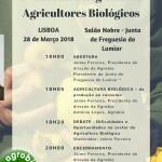 Encontro Regional de Agricultores Biológicos | 28 de março | Junta de Freguesia do Lumiar