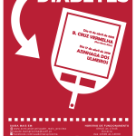 Ação de sensibilização Diabetes | 13 e 17 de abril | Bairro da Cruz Vermelha e Azinhaga dos Ulmeiros