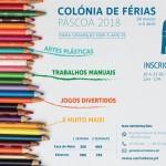 Colónia de Férias | 26 de março a 6 de abril | Carmoteca