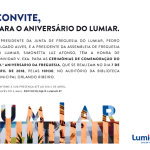 Aniversário do Lumiar   7 de abril   Auditório da Biblioteca Orlando Ribeiro