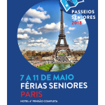 Férias Seniores 2018 | Paris