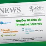 Noções Básicas de Primeiros Socorros | Leões de Portugal