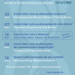 Ciclo de sessões sobre a doença de Parkinson | abril e junho | NeuroSer