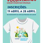 Inscrições voluntários | 19 a 28 de abril | Lumiar Cidade das Crianças