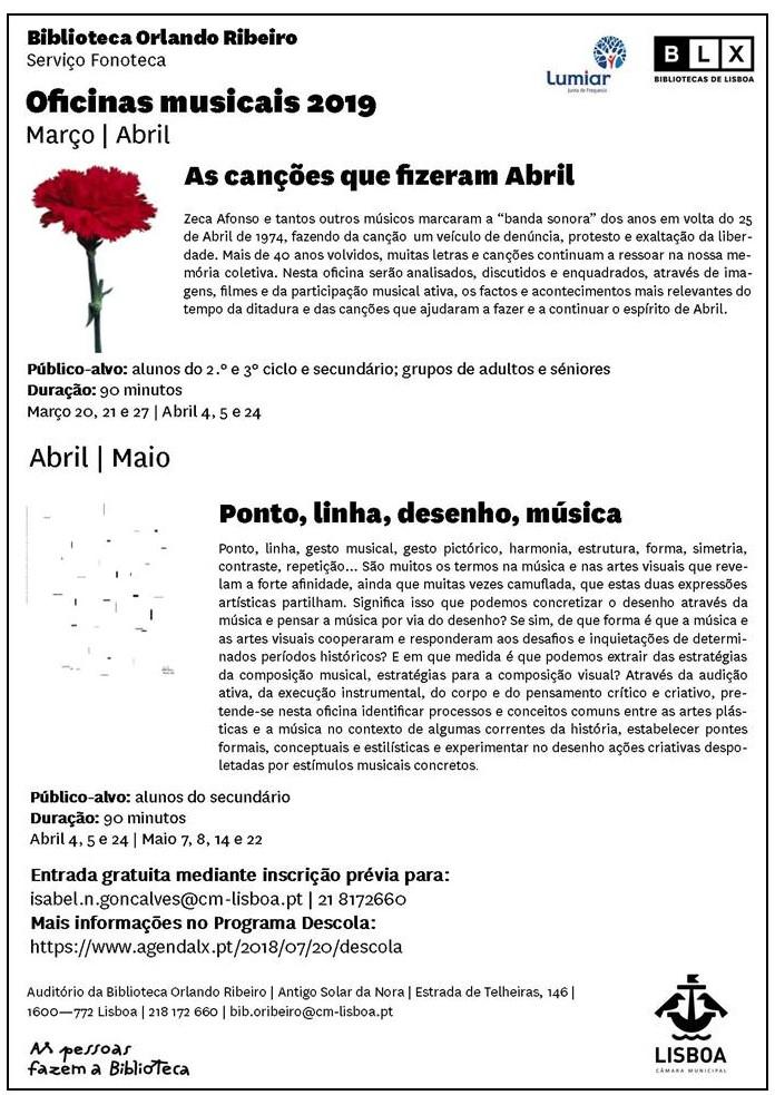 convite março maio