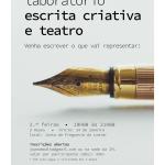 Laboratório de Escrita Criativa e Teatro | 14 de janeiro de 2019
